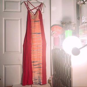 Roxy Maxi Dress (pink)